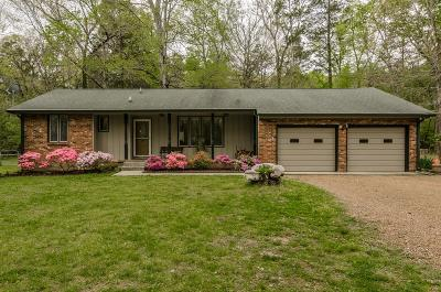 Mount Juliet Single Family Home Under Contract - Showing: 8535 Saundersville Rd