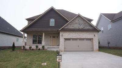 Clarksville Single Family Home Active - Showing: 133 Griffey Estates