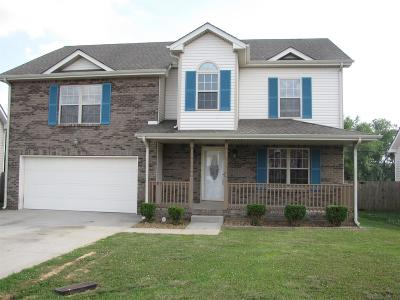 Clarksville Single Family Home For Sale: 2575 Cider Dr