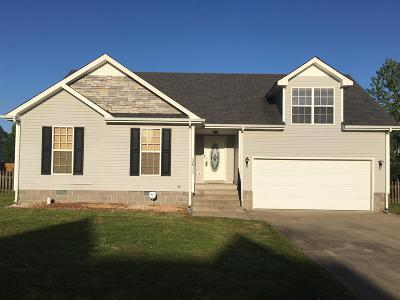Clarksville Single Family Home Under Contract - Showing: 3617 Aurora Dr
