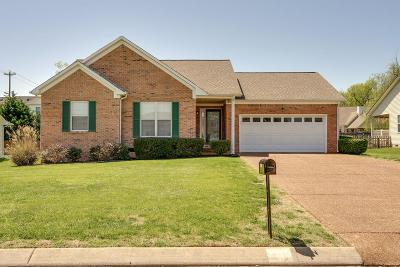 Spring Hill  Single Family Home Under Contract - Showing: 2916 Augusta Trace Dr