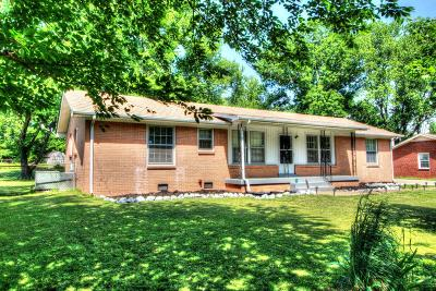 Clarksville Single Family Home Under Contract - Showing: 2720 Thrush Dr