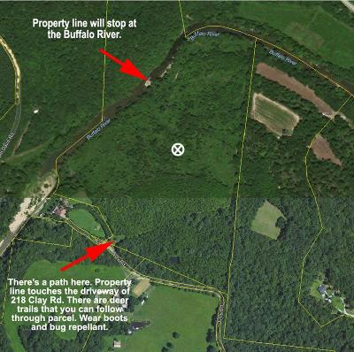 Hohenwald Residential Lots & Land For Sale: Clay Rd