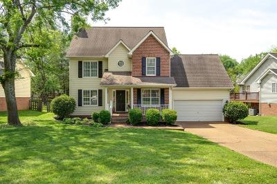 Thompsons Station  Single Family Home Under Contract - Showing: 2687 Douglas Ln
