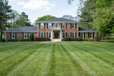 Franklin Single Family Home Under Contract - Showing: 1108 Hunters Trail Dr