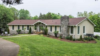 Hendersonville Single Family Home Under Contract - Showing: 155 Bayshore Dr