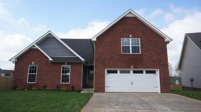 Clarksville Single Family Home Under Contract - Showing: 6 Griffey Estates