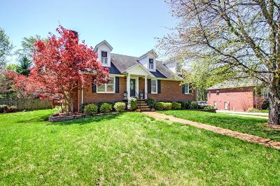 Murfreesboro Single Family Home For Sale: 507 Thatcher Trce