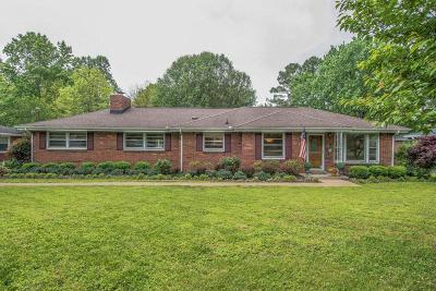 Nashville Single Family Home For Sale: 2935 Windemere Cir