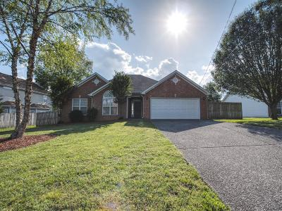 Lavergne Single Family Home Under Contract - Showing: 352 Davids Way