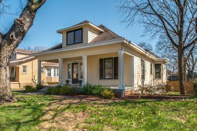Nashville Single Family Home Under Contract - Showing: 1810 Beech Ave