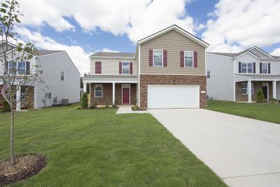Clarksville Single Family Home For Sale: 253 Autumn Terrace Ln -lot 241