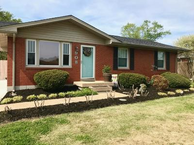 Gallatin Single Family Home Under Contract - Showing: 908 Iris Dr