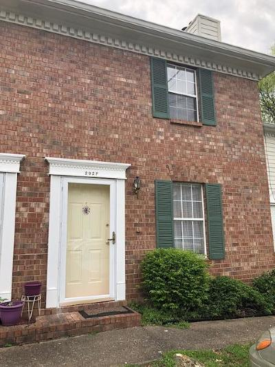 Hendersonville Condo/Townhouse Under Contract - Not Showing: 292 Donna Dr Apt F