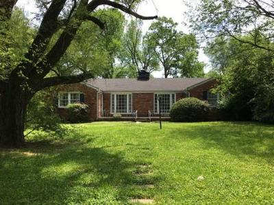 Single Family Home For Sale: 1001 Woodmont Blvd