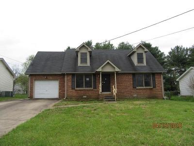 Clarksville Single Family Home Active - Showing: 290 Audrea Ln
