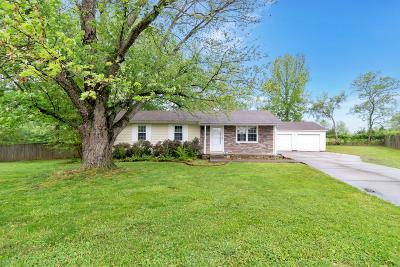 Clarksville Single Family Home Under Contract - Showing: 512 Caskey Drive