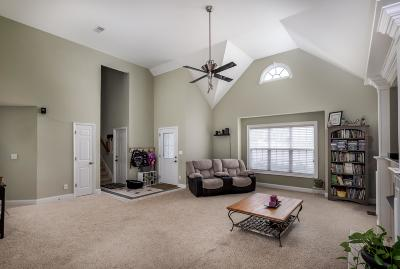 Clarksville Single Family Home Under Contract - Not Showing: 1132 Channelview Ct