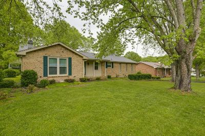 Goodlettsville Single Family Home Under Contract - Showing: 107 Charleston Dr