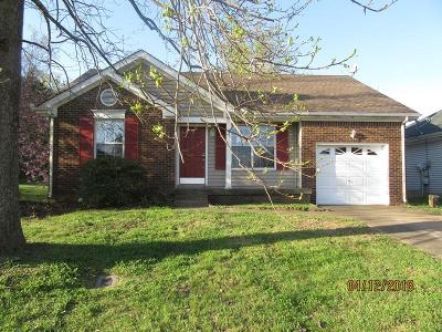Christian County, Ky, Todd County, Ky, Montgomery County Single Family Home Under Contract - Showing: 83 Grassmire Dr