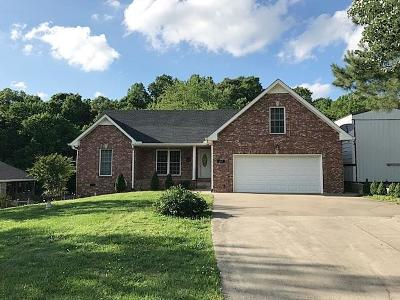 Clarksville Single Family Home Active - Showing: 615 McAdoo Creek Rd