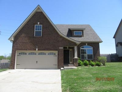 Clarksville Single Family Home Under Contract - Showing: 3023 Outfitters Dr