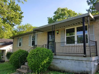 Nashville Single Family Home Under Contract - Showing: 3315 Panorama Dr