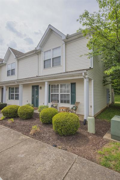 Murfreesboro Condo/Townhouse Under Contract - Not Showing: 327 Shoshone Pl