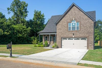 Clarksville Single Family Home Active - Showing: 41 Dunbar Place Lot 41