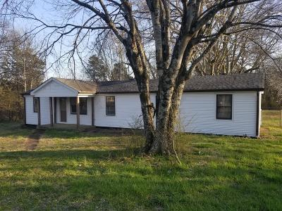Rockvale Single Family Home Under Contract - Showing: 1055 Coleman Hill Rd