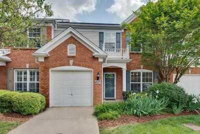 Brentwood Condo/Townhouse Under Contract - Showing: 437 Old Towne Dr