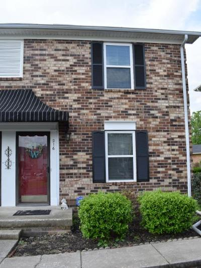 Hendersonville Condo/Townhouse Under Contract - Showing: 216 Edgewood Dr