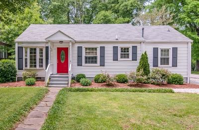 Sylvan Park Single Family Home Under Contract - Showing: 305 50th Ave N