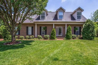 Franklin Single Family Home Under Contract - Showing: 214 Big Ben Ct