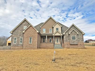 Clarksville Single Family Home Under Contract - Not Showing: 32 Marquee Estates