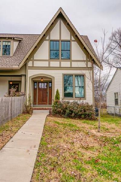 East Nashville Single Family Home For Sale: 1801 B Woodland St