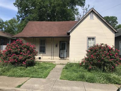 Nashville Single Family Home For Sale: 1610 22nd Ave N