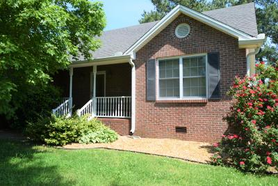 Clarksville Single Family Home Under Contract - Showing: 4893 Albright Rd