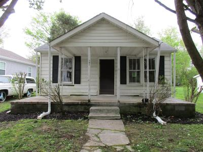 Clarksville Single Family Home Under Contract - Not Showing: 302 Mitchell St