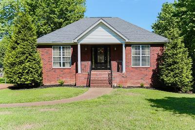 Lavergne Single Family Home Under Contract - Showing: 630 Knollwood Dr
