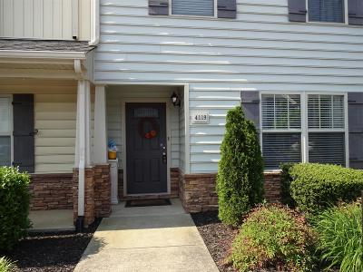 Murfreesboro Condo/Townhouse Under Contract - Not Showing: 4119 War Emblem Ln