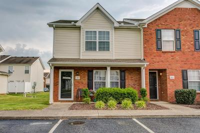 Murfreesboro Condo/Townhouse Under Contract - Not Showing: 1018 Sitting Bull Xing