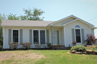 Clarksville Single Family Home Under Contract - Showing: 732 Shelton Cir