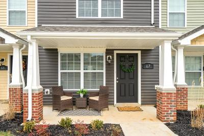 Clarksville Single Family Home Under Contract - Showing: 323 Sam Houston Cir