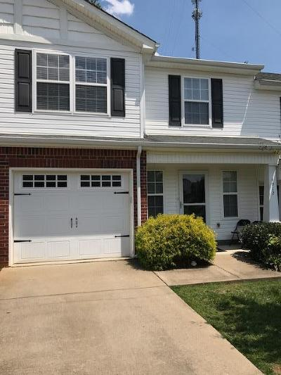 Murfreesboro Condo/Townhouse Under Contract - Not Showing: 4912 Laura Jeanne Blvd