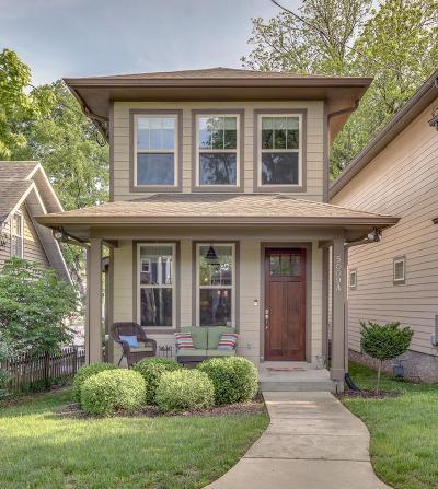 Sylvan Park Single Family Home For Sale: 5009 A Dakota Ave