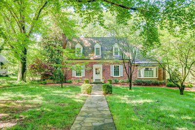 Belle Meade Single Family Home For Sale: 123 Clarendon Ave