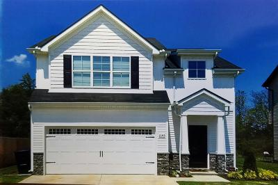 Murfreesboro Single Family Home Under Contract - Showing: 1618 Sunray Dr - Lot 108