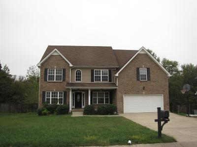 Clarksville Single Family Home For Sale: 590 Winding Bluff Way