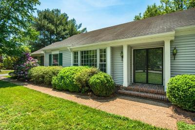 Franklin Single Family Home Under Contract - Showing: 2407 McIntyre Ct